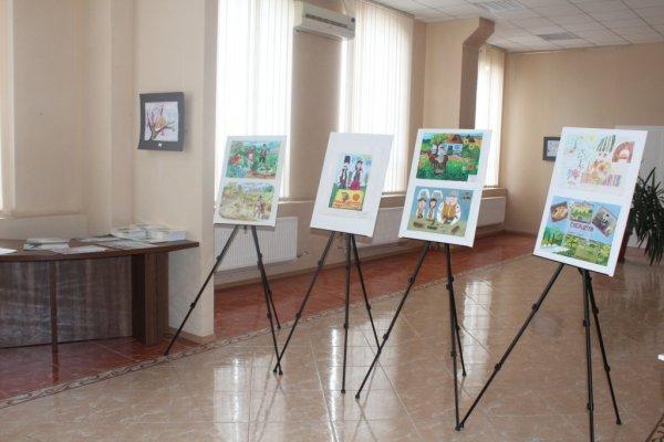 (ФОТО) Церемония награждения победителей и участников ежегодного конкурса рисунков и эссе