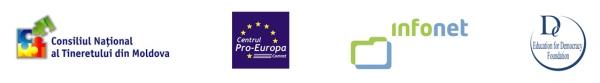 """Cursuri în cadrul proiectelor """"Dialog Intercultural în Moldova"""" şi """"Uniţi prin diversitate pentru un dialog intercultural armonios în Moldova"""""""