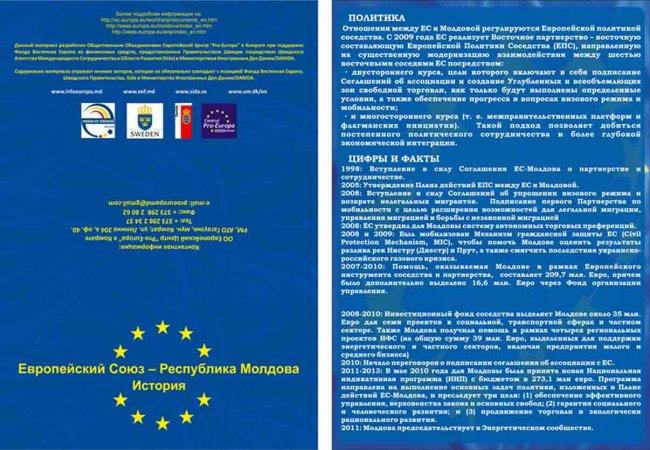 Европейский союз - Республика Молдова. История