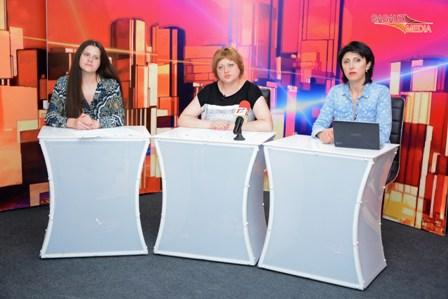 """Conferință de presă de totalizare a Centrului European """"Pro-Europa"""" privind realizarea proiectului"""